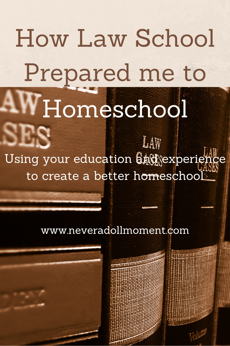 Prepared to Homeschool by Law School