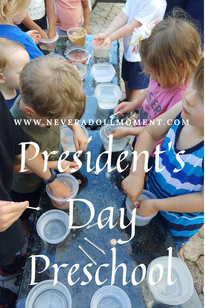 President's Day Preschool