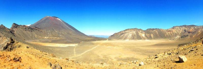 The Tongariro Crossing