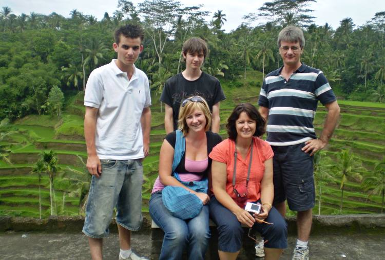 Bali with Moore Family