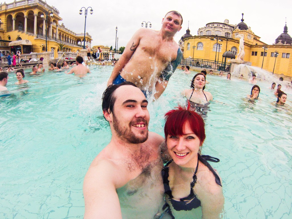 Never Ending Honeymoon | Széchenyi Baths, Budapest, Hungary