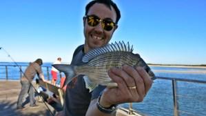 Never Ending Honeymoon   Daniel fishing in Australia