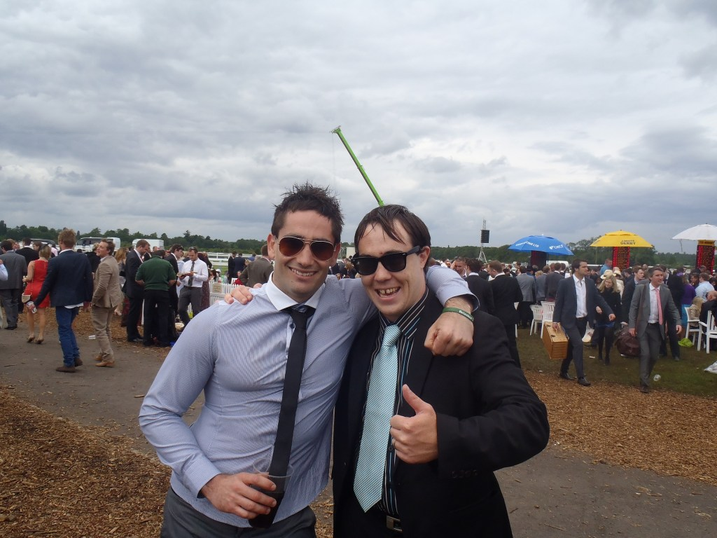 Never Ending Honeymoon | Dan and Ryan at Ascot Races 2012