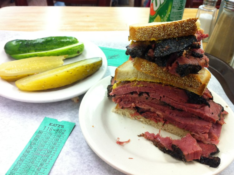 Katz Deli in NYC