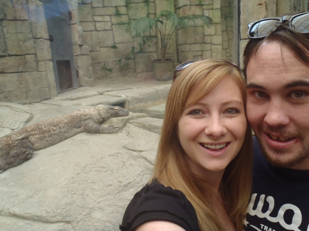 Never Ending Honeymoon | A zoo in one of the casinos in Vegas