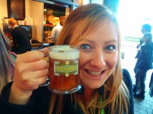 Never Ending Honeymoon | Butterbeer at the WB Harry Potter Studios