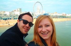 Never Ending Honeymoon | Jacqui and Dan at Brighton, UK