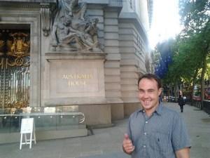 Never Ending Honeymoon   Voting at Australia House, London