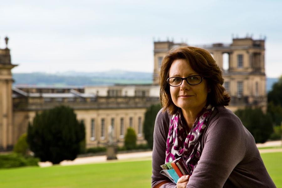 Never Ending Honeymoon | Sue at Chatsworth House. Photo: Richard Moore