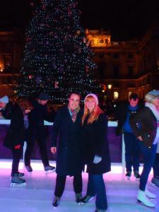 Never Ending Honeymoon | Christmas in London, Ice Skating Somerset House