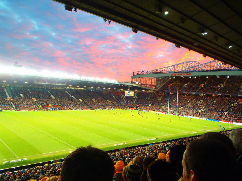 Never Ending Honeymoon | Old Trafford for Rugby League World Cup Final: Australia V New Zealand