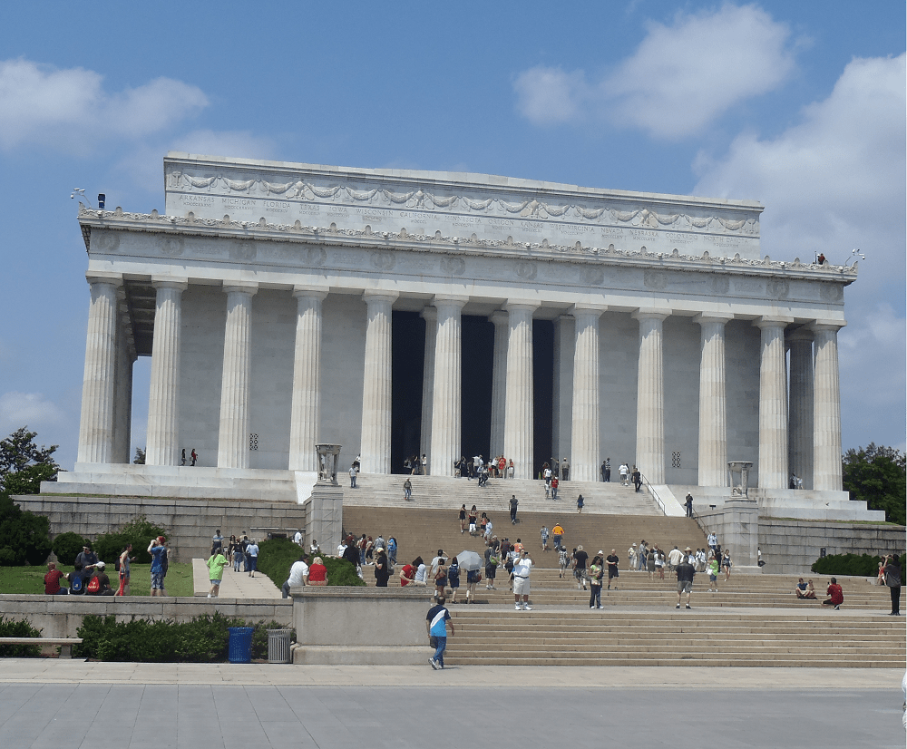 Never Ending Honeymoon | Lincoln Memorial, Washington D.C., US