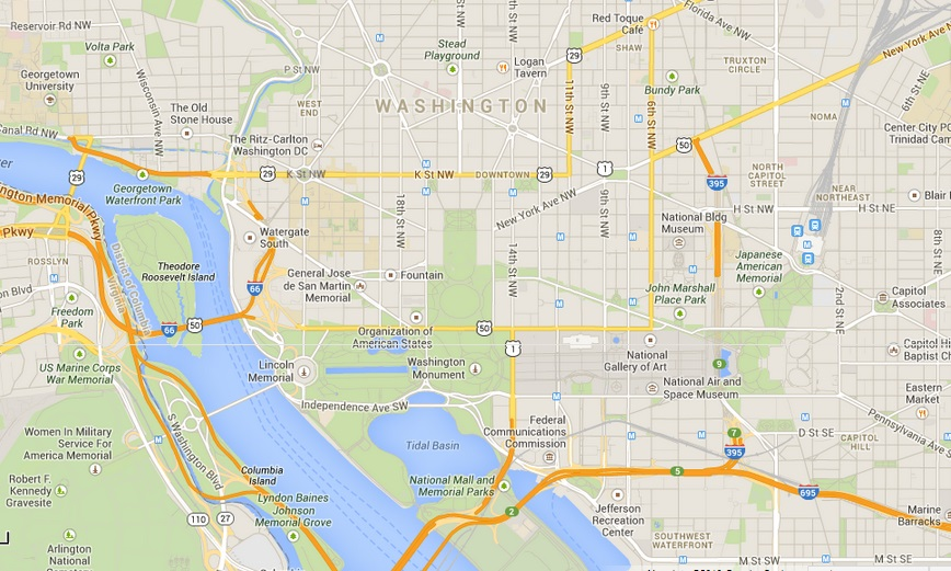What To See And Do In Washington DC Never Ending Honeymoon - Us map washington dc located