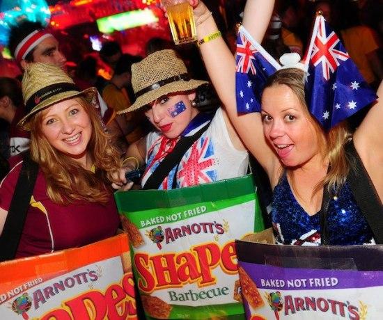 Never Ending Honeymoon   2013 Australia Day at Infernos in London