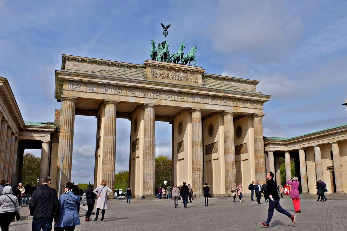 Brandenburger Tor, Berlin with Daniel