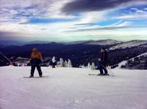 Never Ending Honeymoon   Daniel snowboarding in Kopaonik, Serbia