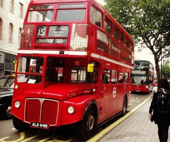 Never Ending Honeymoon | London RouteMaster