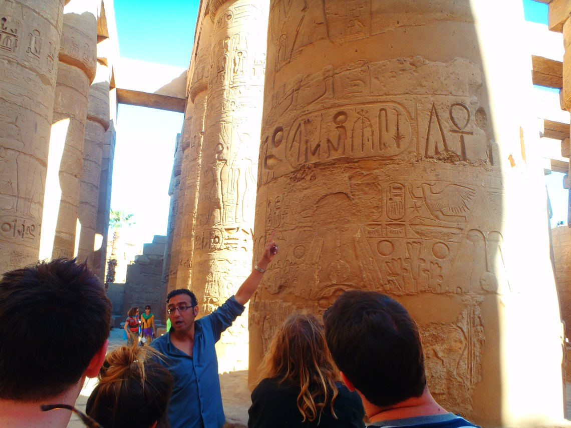 Never Ending Honeymoon | Sam the tour guide in Egypt