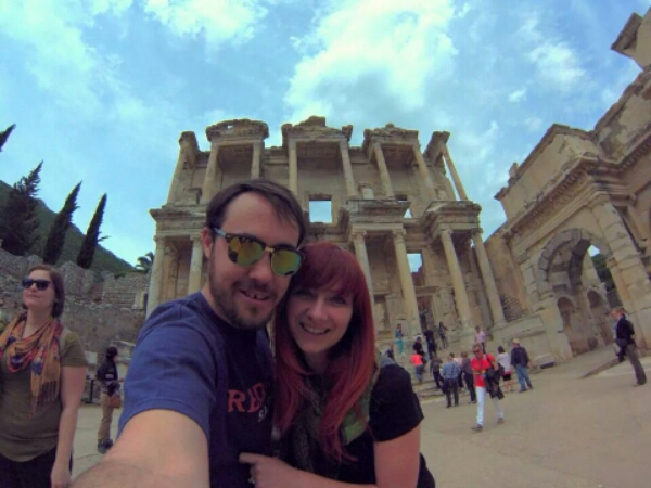 Never Ending Honeymoon | The ancient city of Ephesus, Turkey