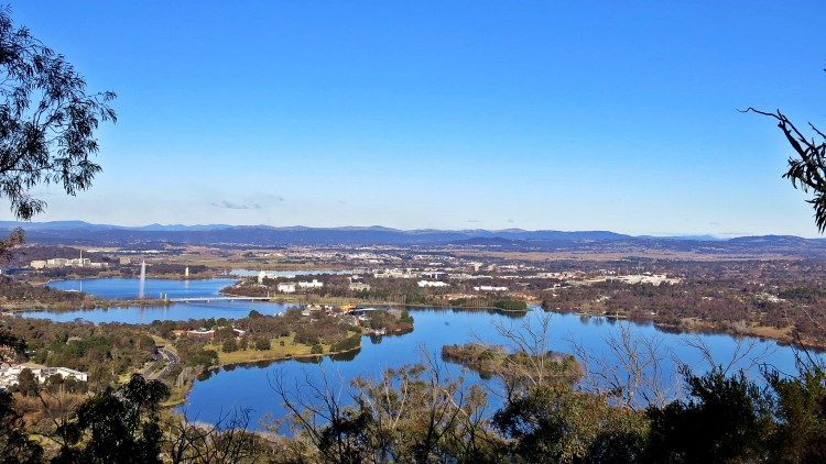 Canberra from Black Mtn