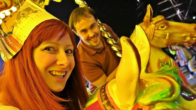 11 Woolwich Arsenal Carousel Jacqui & Dan