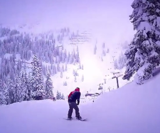 Never Ending Honeymoon | Snowboarding Silvretta Montafon, Austria