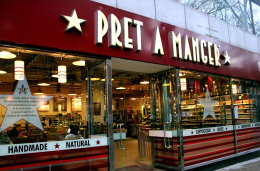 Never Ending Honeymoon | Pret a Manger, London