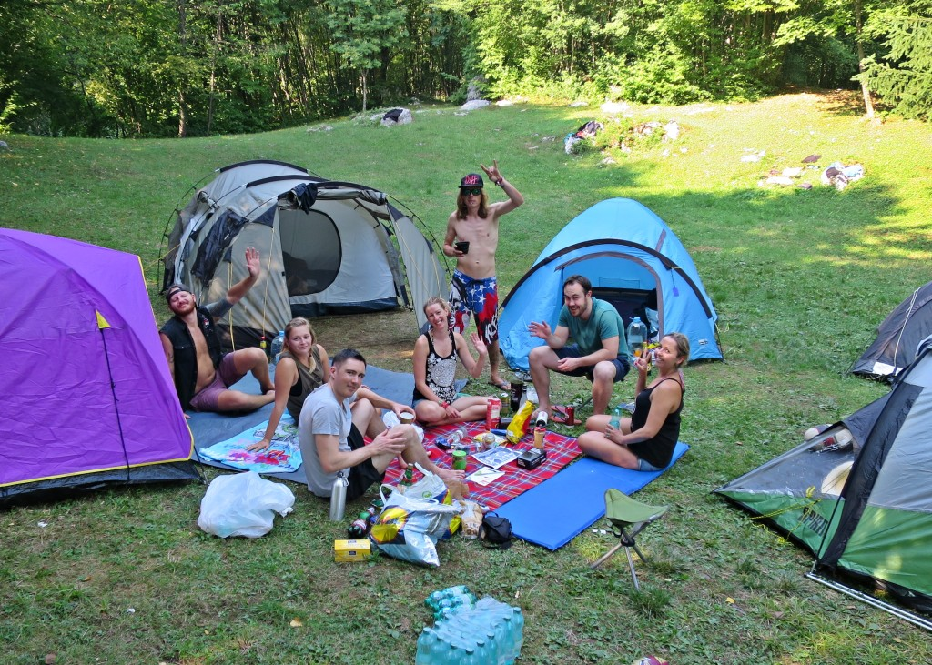 Our camping road trip in the Balkans