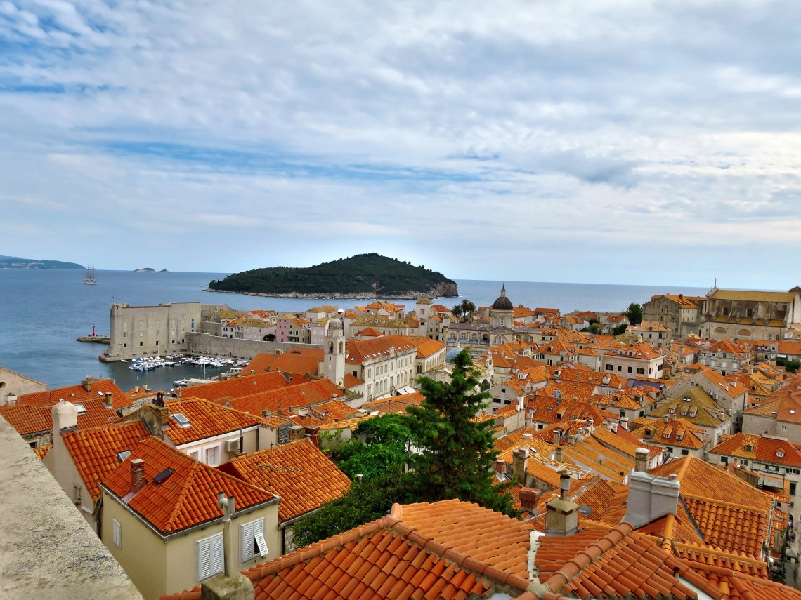 The Croatian City Of Dubrovnik On Adriatic Sea In Dalmatia Is One Most Prominent Tourist Destinations Mediterranean Romantic Old