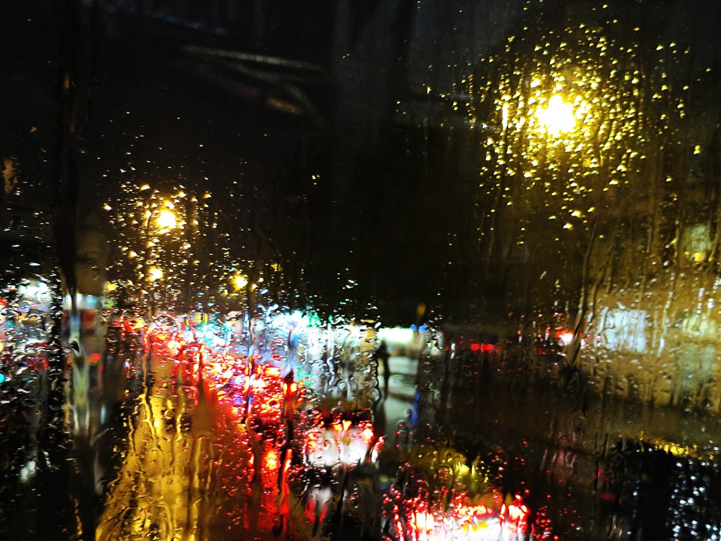 Rainy nights in London