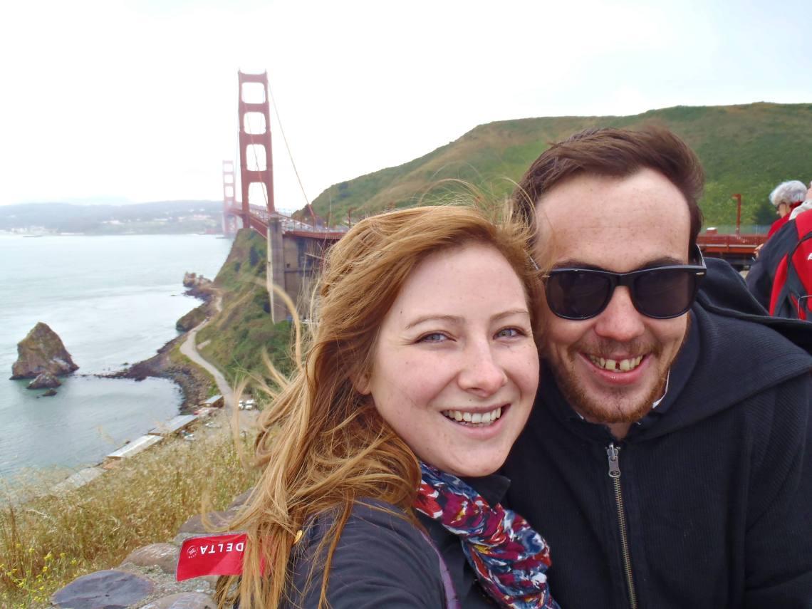 Never Ending Honeymoon Jacqui and Dan in San Francisco, US