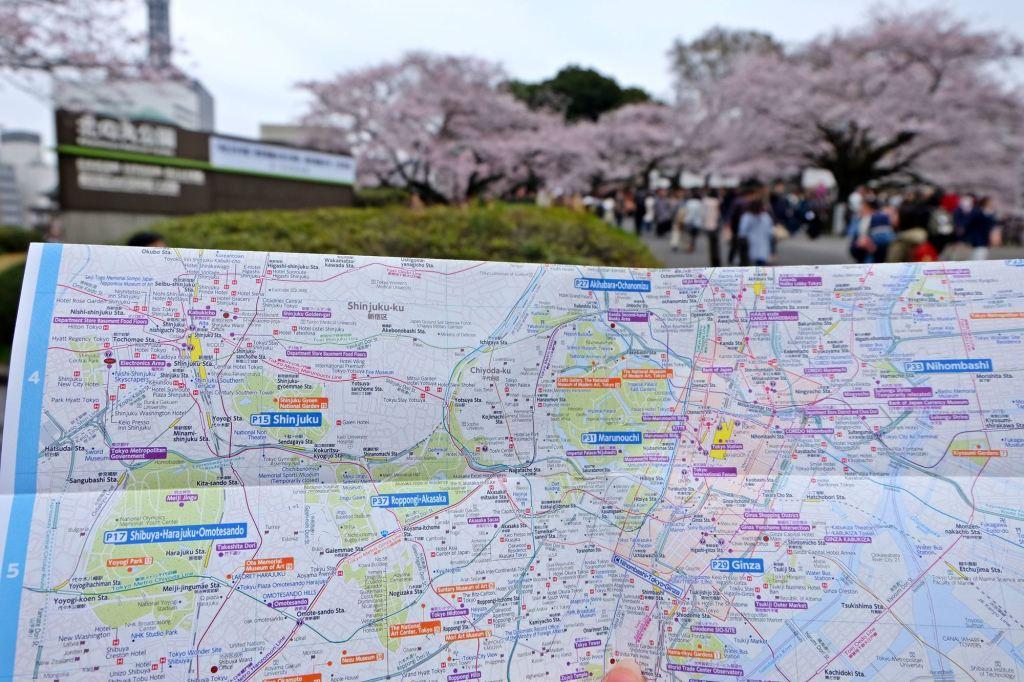 Tokyo Map of Tokyo