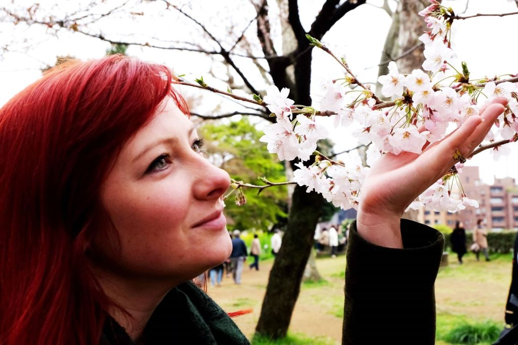 Tokyo Sakura and Jacqui 2