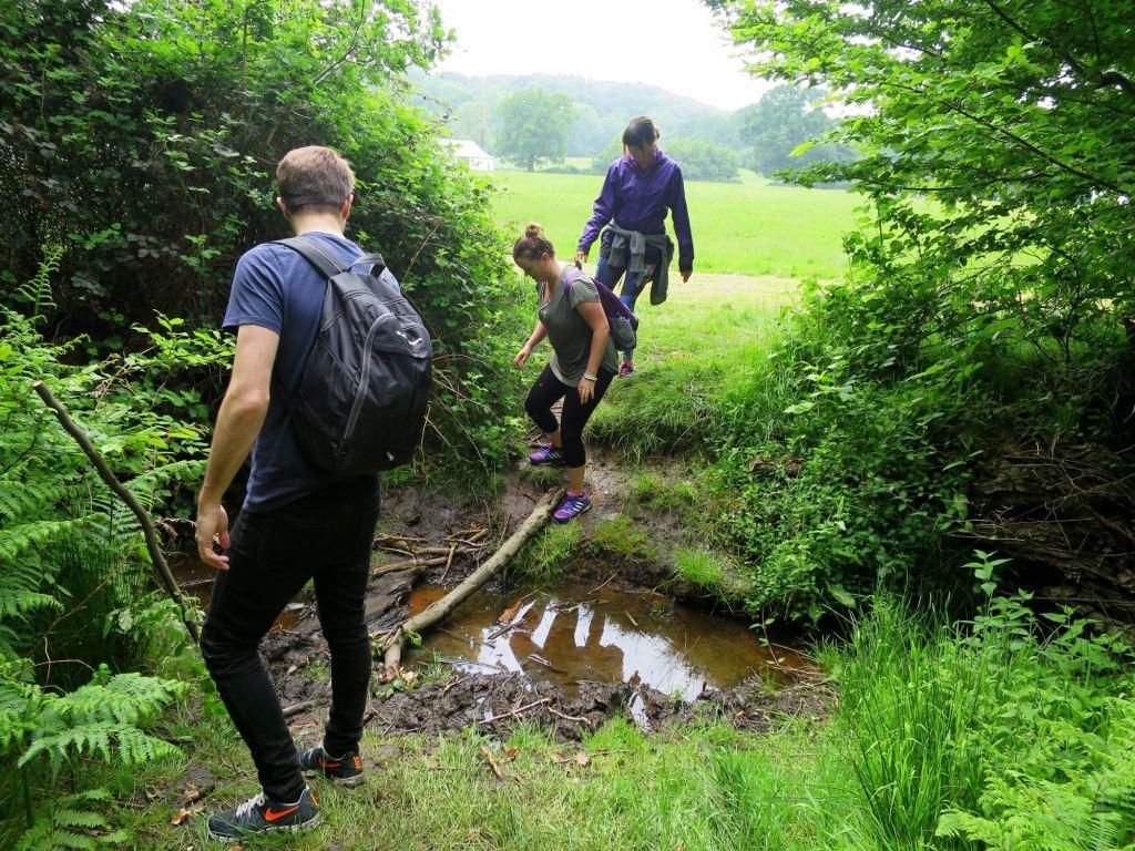 London Walks The Oak Trail across the water