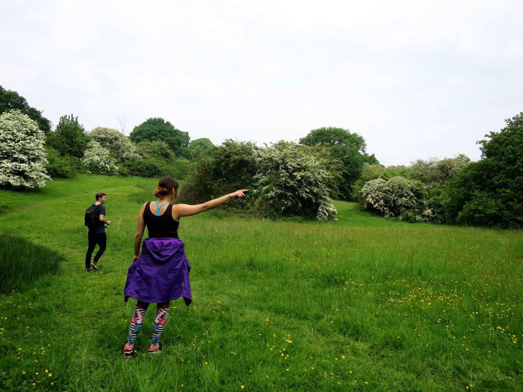 London Walks The Oak Trail are we lost