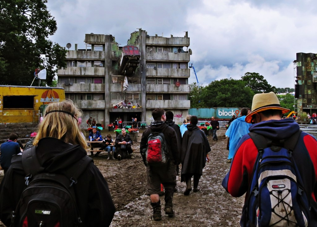 Glastonbury 2016 24 June Friday afternoon 5pm Block 9 WS