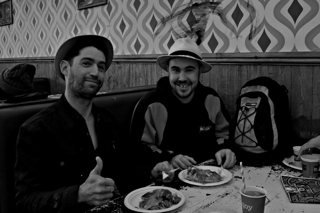 Glastonbury 2016 26 June Sunday breakfast at Beat Hotel WS
