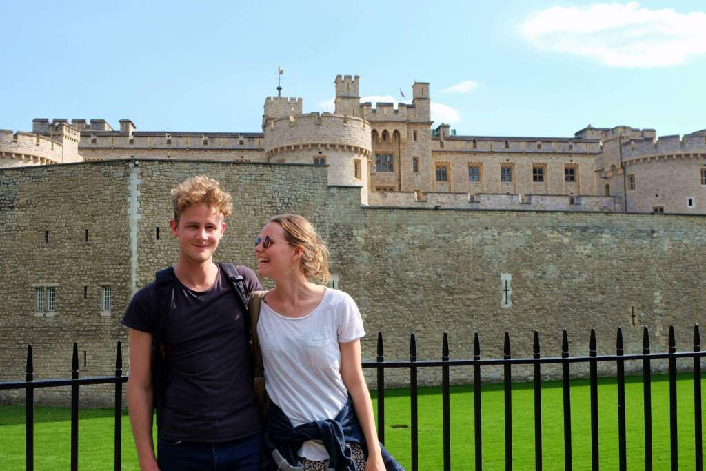 Tower of London with Jeremy
