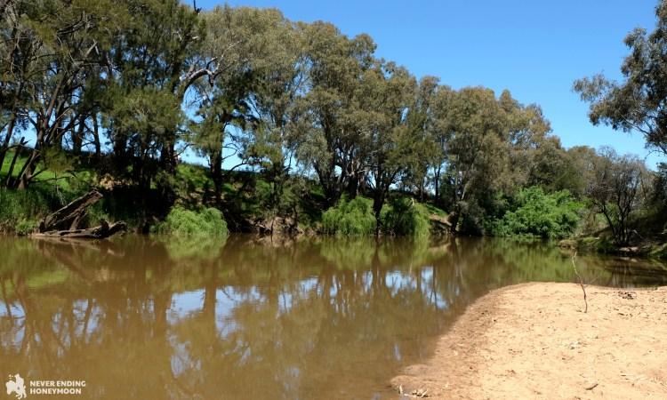 NSW road trip Lachlan River