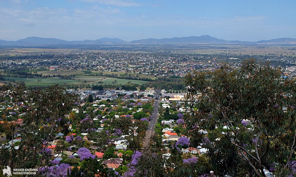 NSW road trip Tamworth Oxley Scenic Lookout