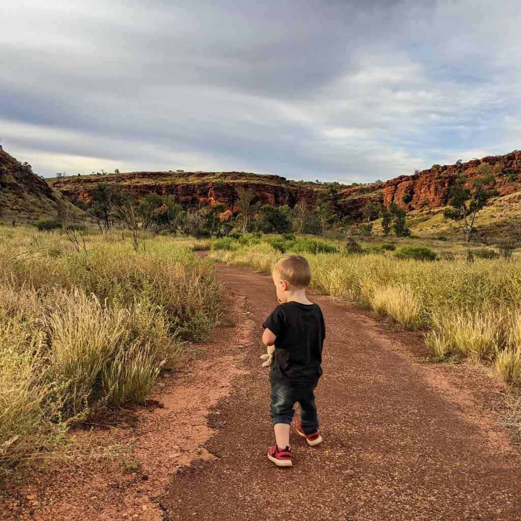 NT holiday King Canyon Kathleen Springs walk