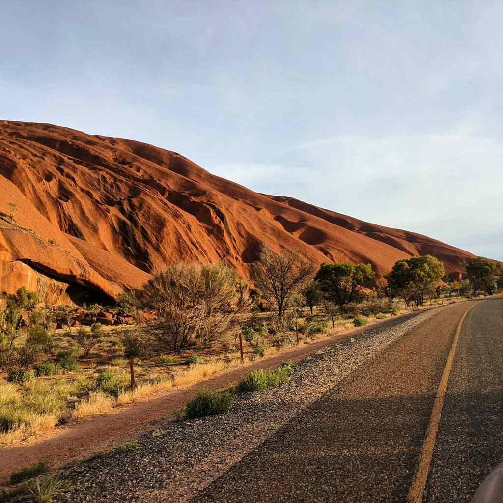 NT holiday Uluru ring road