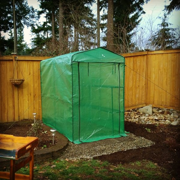 Setting Up A Portable Greenhouse