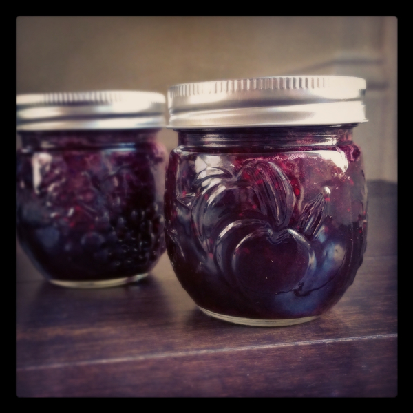 Small Batch Bumbleberry Jam
