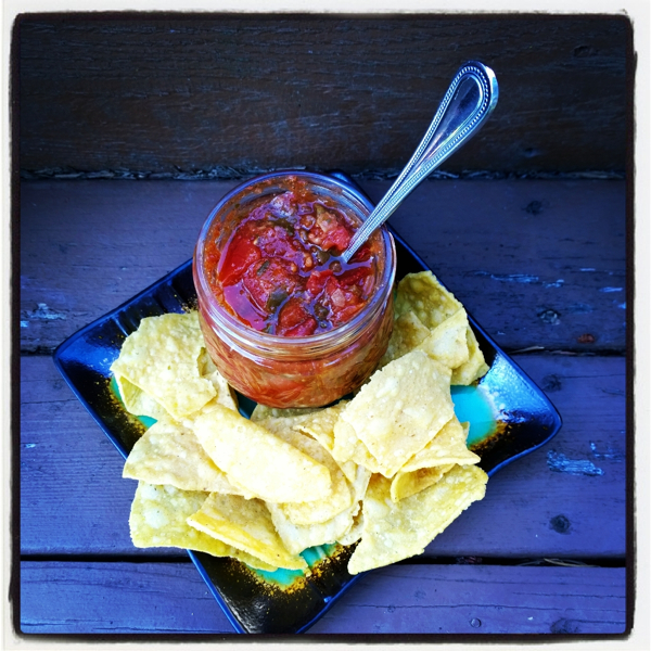 Small Batch Canning: Raspberry Salsa