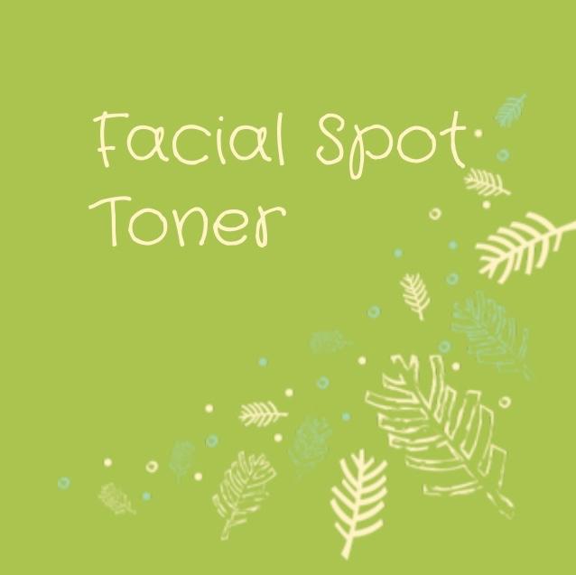 Facial Spot Toner Rollerball Recipe