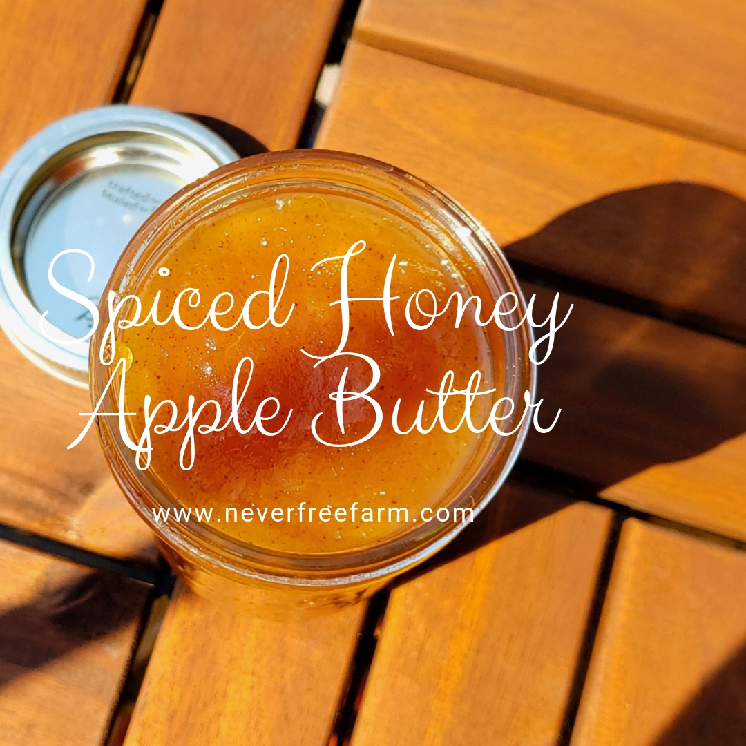 Spiced Honey Apple Butter
