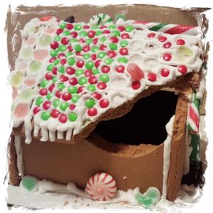 Festive Gingerbread Structural Damage
