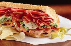Quiznos - Brought in fresh daily