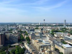 View from the Cologne Cathedral